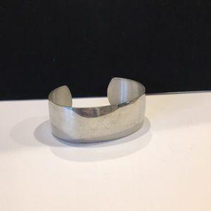 Pewter Cuff bracelet